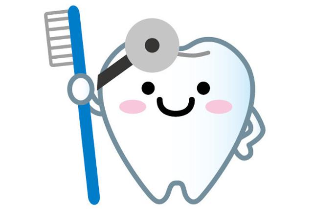 歯のアニメ