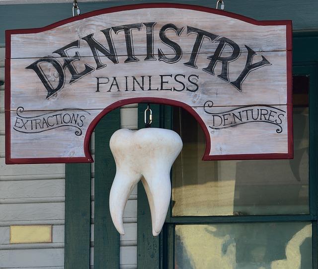 歯医者の看板