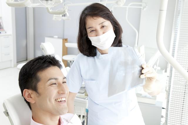歯のレントゲン撮影